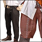 Medieval and Renaissance Pants, Hosen, and Kilts