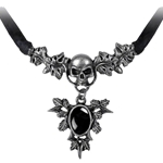 Catafalque Necklace Pewter Alchemy P408