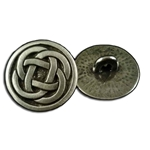 Celtic Quad Knot Button 107.1234
