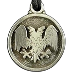 Double Headed Eagle Pendant 121.0620