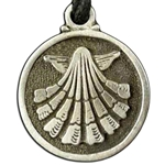 Escallop Pewter Pendant 121.0606
