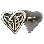 Celtic Heart Button 107.1297