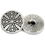 Celtic Maltese Cross Button 107.1477