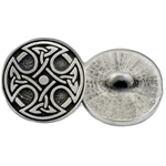 Round Celtic Cross Button 107.1478