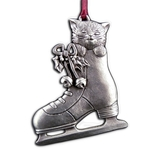 Kitten and Skate Ornament 119.0118