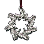 Rodeo Barrel Racer Ornament 119.0597