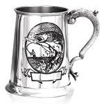 The Fishing One Pint Pewter Tankard