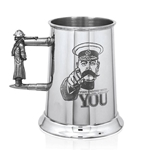 Your Country Needs You One Pint Pewter Tankard