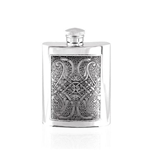 Celtic Knot Pewter Flask 4 Ounces