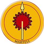 House Martell Embroidered Patch 28-111
