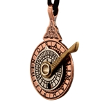 Tri-Color Nocturnal Stardial Pendant 289-NO2TRI