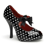 Cutiepie Polka Dot Mary Jane Pumps