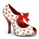 Cutiepie Cherry Mary Jane Pumps