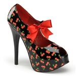Teeze Cherry Mary Jane Pumps 34-4174