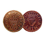 Charles I Farthing Historic Coin 1625 BI-150