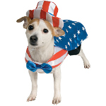 Uncle Sam Dog Costume 100-153803