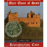 Mary Queen of Scots Replica Coin 1560 MQSCP-S