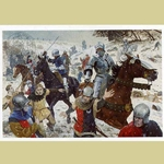 Battle of Towton The Rout Medieval Art Print ROUT-17