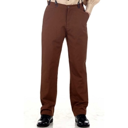 Brown Victorian Trousers  - Plus Size