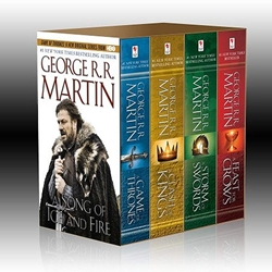 Game of Thrones 5 Book Boxed Set - Ice & Fire Series