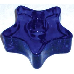Blue Star Chime Candle Holder 45-CH1117B