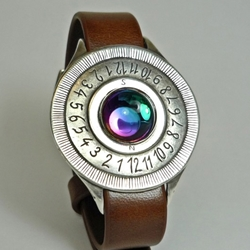 Sundial Wristwatch in Galaxy